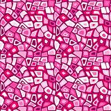Pink futuristic mosaic