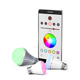 Smartphone and LED light bulbs