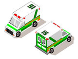 Isometric CARE Transport Ambulance