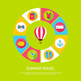 Concept Summer Travel
