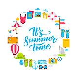 Summer Time Flat Circle