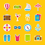 Summer Time Stickers