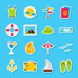Summer Travel Stickers