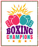 Logo for boxing.