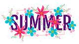 Banner for summer.