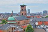 Top-view of Copenhagen