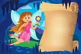 Parchment in fairy tale cave image 3