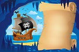 Parchment in pirate cave image 3