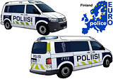 Finland Police Car