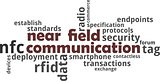 word cloud - near field communication