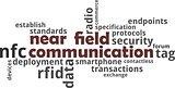 word cloud - near field communication