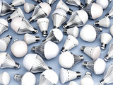 Different types of LED light bulbs