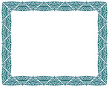 square vector picture border frame