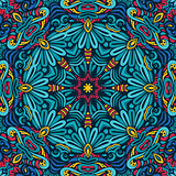 Abstract Festive geometric mandala pattern