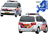 Serbia Police Car