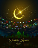 vector illustration of Ramadan