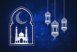 Ramadan greeting card