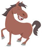 cute horse farm animal