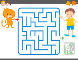 maze game for children