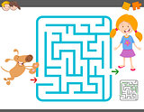 maze laisure activity game