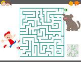 maze leisure activity