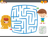 maze leisure activity game