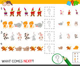 complete the pattern activity game