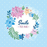 Smile to me gift card