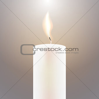 Candle Flame.