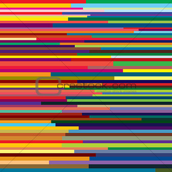 Abstract geometric striped colorful background