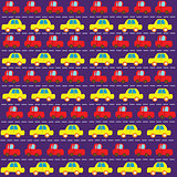 Simple car pattern