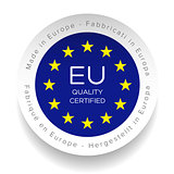Eu Quality Certified logo