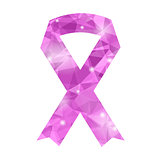 Pink Ribbon Icon