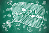 Business Communications - Business Concept.