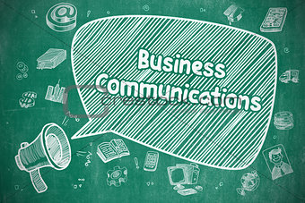 Business Communications - Business Concept.