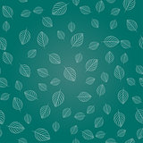 Seamless texture of simple leaves