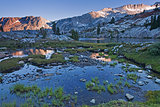 Beautiful Eastern Sierra Scene