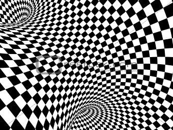 Abstract illusion