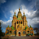 Cathedral of Saints Peter and Paul, Peterhof in Saint Petersburg
