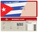 Business Class Flight to Cuba