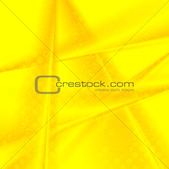 Bright yellow grunge stripes vector background