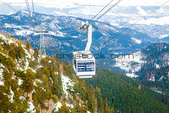 Cable Car Winter