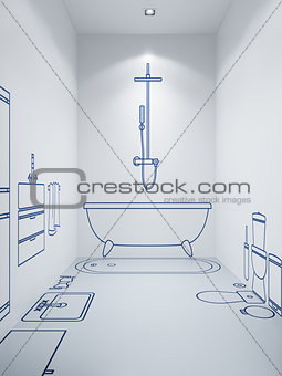 bathroom planning design