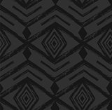 Black tribal Navajo vector seamless pattern with doodle elements. aztec abstract geometric art print. ethnic hipster backdrop. Wallpaper, cloth design, fabric, paper, textile. Hand drawn.