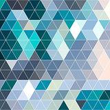 Retro pattern of geometric shapes. Colorful mosaic backdrop. Geometric hipster retro background