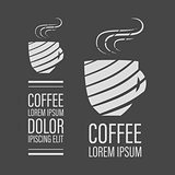 Cafe coffee banner