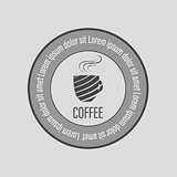 Cafe coffee logo