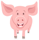 piglet farm animal character