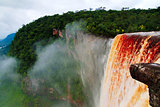 Kaieteur waterfall, one of the tallest falls in the world, Potaro river Guyana