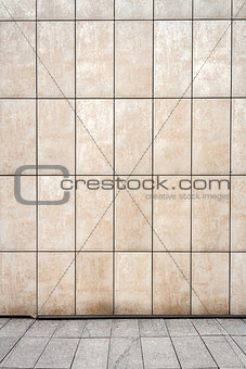 Modern white wall texture background